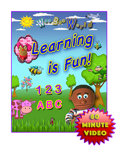 """Learning is Fun!"" educational movie for children."